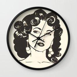 Rita Moreno Wall Clock