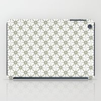 flower pattern iPad Cases featuring Flower pattern by Yasmina Baggili