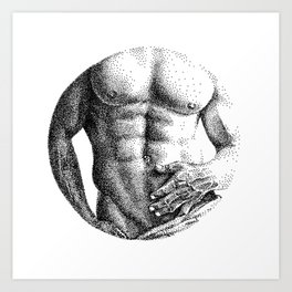 Konstantin Circle NOODDOOD Art Print