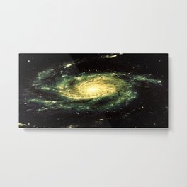 Spiral Galaxy : Messier 101 Metal Print