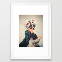 Kumiko Framed Art Print