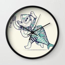 Selfishy Wall Clock