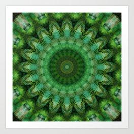 Mandala Anahata Art Print