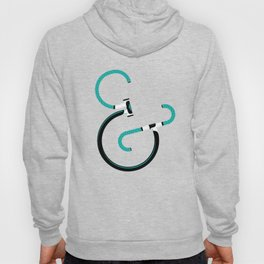 Typography & Bicycles Hoody