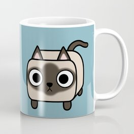 Cat Loaf - Siamese Kitty with Crossed Eyes Coffee Mug