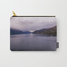 Lake Hawea lake wakatipo blue crystal clear panorama Carry-All Pouch