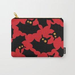 Halloween bats pattern Carry-All Pouch