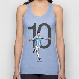 Lionel Messi Argentina 10 Print Unisex Tank Top