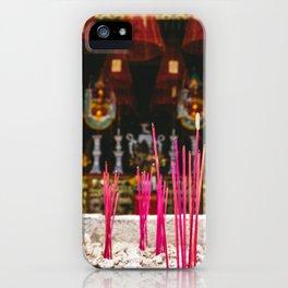 Incense at Quan Kong Temple, Hoi An, Vietnam iPhone Case