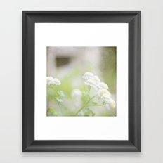 Summer Cottage Framed Art Print