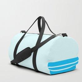 Deep Sky Stripes Blue Wall Duffle Bag