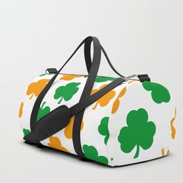 Irish Shamrocks Duffle Bag