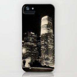LA at night. iPhone Case