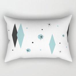 Vintage 1950s Mid Century Modern Design Rectangular Pillow
