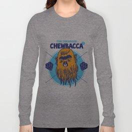 Hipster Chewie Long Sleeve T-shirt