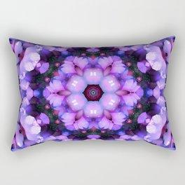 Crystal Essence Mandala Rectangular Pillow