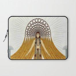 """Art Deco Oriental Design """"Café Foujita"""" Laptop Sleeve"""