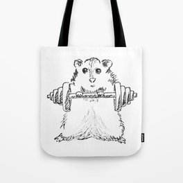 Hamster Workout Tote Bag