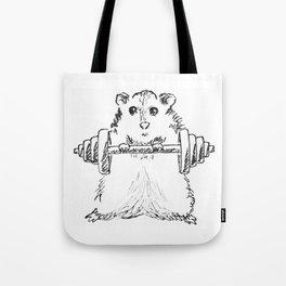Hamster Workout Tote Bag