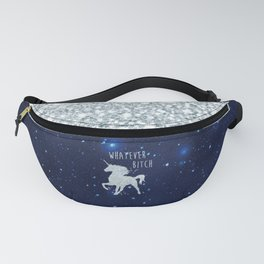 Whatever Bitch, Funny, Pretty, Quote Fanny Pack