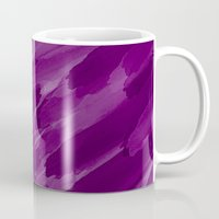 the strokes Mugs featuring Purple Strokes by UMe Images