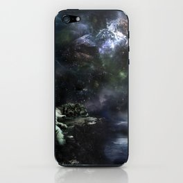 Snow Leopard Storms iPhone Skin