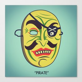 """Pirate"" Canvas Print"
