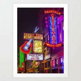 Music City Art Print