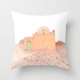 Desert Rose III - Morocco Throw Pillow
