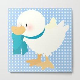 duck (male) Metal Print