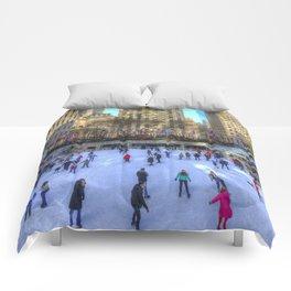 New York Ice Skating Comforters