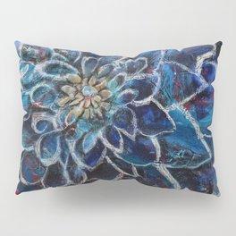 Blue Dahlia Pillow Sham