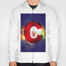 Colorado Flag/Galaxy Print Hoody