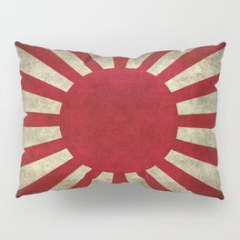 Imperial Japanese Army Ensign Flag - Vintage retro version Pillow Sham