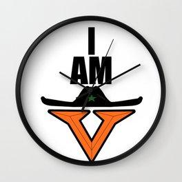 I am Vaquero Wall Clock
