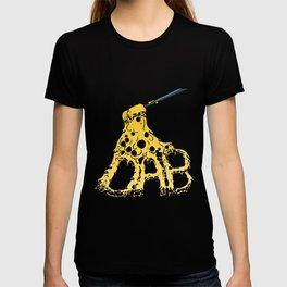 Melting DAB cannabis marijuana art design T-shirt
