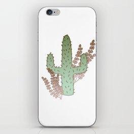 Lone Cactus iPhone Skin