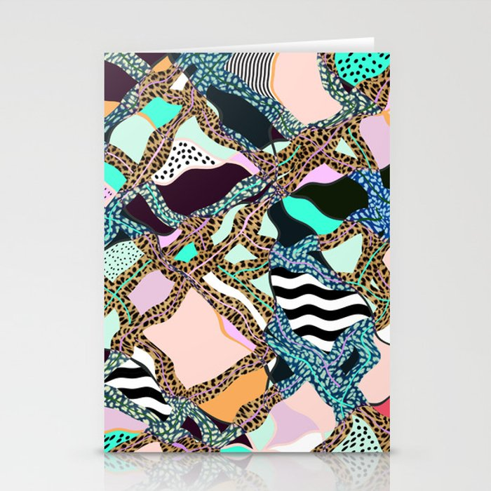 ELECTRIC VIBES Stationery Cards