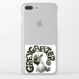 Greygreeter Clear iPhone Case
