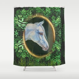 Forest Horse Shower Curtain