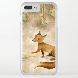 In the silence of the afternoon Clear iPhone Case