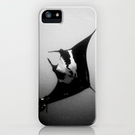 Evading Devil Fish iPhone Case