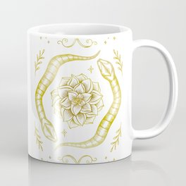 Golden Snakes Coffee Mug