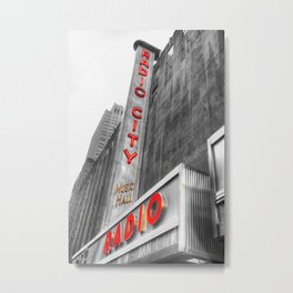 Radio City Music Hall Metal Print