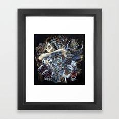 The Hunt Deux Framed Art Print