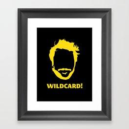 Wildcard! Framed Art Print