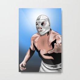Santo Metal Print