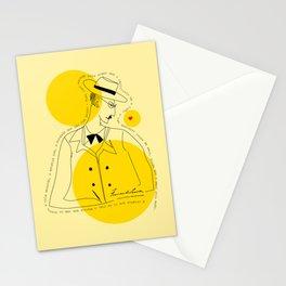 Fernando Pessoa 3 Stationery Cards
