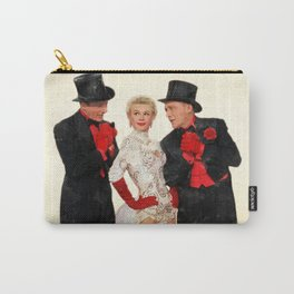 Mandy (White Christmas) Carry-All Pouch