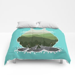 No more rainy days Comforters